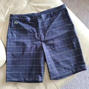 Lacoste mens shorts EUC